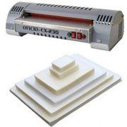 Kit Plastificadora A4 Oficio Excentrix EX-230 + 400 Plásticos