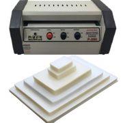 Kit Plastificadora A4 Oficio P280 + 600 Plásticos