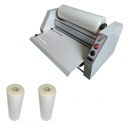 Kit Plastificadora Rotativa A3 R380 + 2 Bobinas 34cm