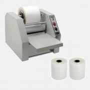 Kit Plastificadora Rotativa RG R180 + 2 Bobinas 11,5cm