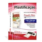Polaseal para Plastificação 1/2 Oficio 170x226x0,07mm (175 micras) - Pacote com 100 unidades