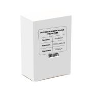 Polaseal para Plastificação Crachá 59x86x0,10mm (250 micras) - Pacote com 100 unidades