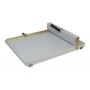 Vincadeira de Papel Manual em Aço A3 45cm até 8 Folhas Excentrix