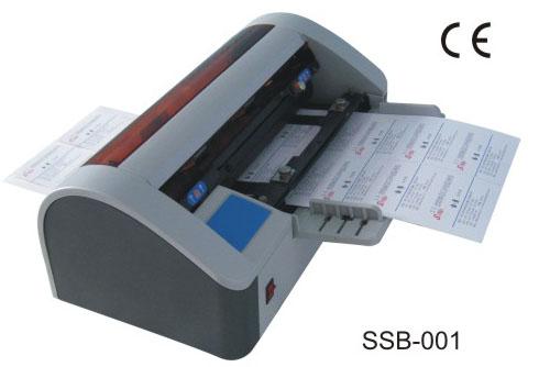 Cortador de Cartão de Visitas Elétrico Automático SSB-001 110v  - Click Suprimentos