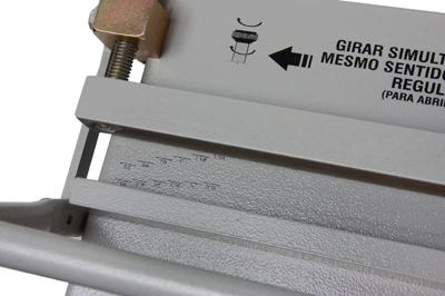 Fechadora Wire-o Manual em Aço 45cm  - Click Suprimentos