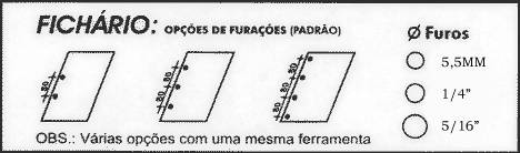 Encadernadora Multiperfuradora para Fichários Lassane  - Click Suprimentos