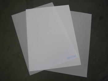 Placas de PVC (PET) Imprimível à Laser para Crachá A4 200x300x0,76mm - Caixa com 50 Jogos  - Click Suprimentos