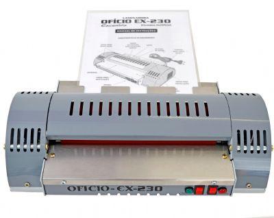 Plastificadora Laminadora A4 Oficio Excentrix EX-230 Bivolt  - Click Suprimentos