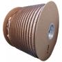 """Bobina Wire-o para Encadernação Preto 1"""" até 200 Folhas (Passo 2x1) - 4.500 anéis"""