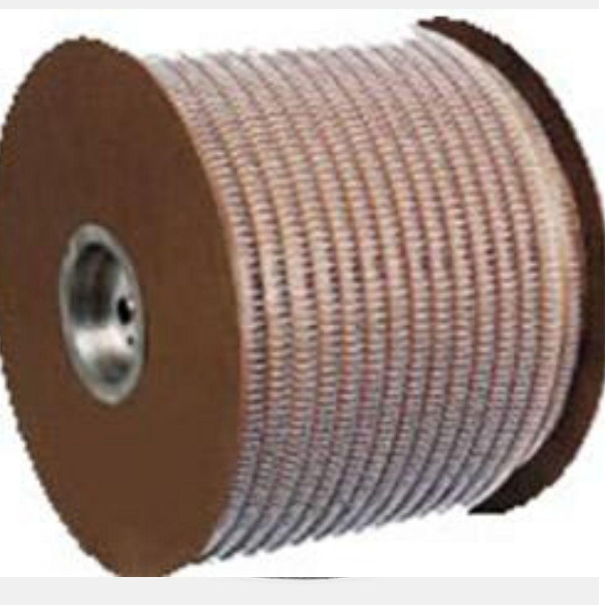 """Bobina Wire-o para Encadernação Preto 9/16"""" até 110 Folhas (Passo 3x1) - 21.000 Anéis  - Click Suprimentos"""
