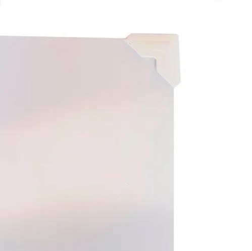 Cantoneiras para Fotos em Papel 13mm Branca - Pacote com 84 unidades  - Click Suprimentos