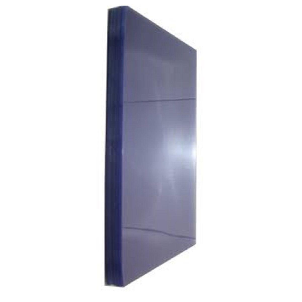 Capa para Encadernação Acetato 0,25mm Cristal A4 - Pacote com 100 unidades  - Click Suprimentos