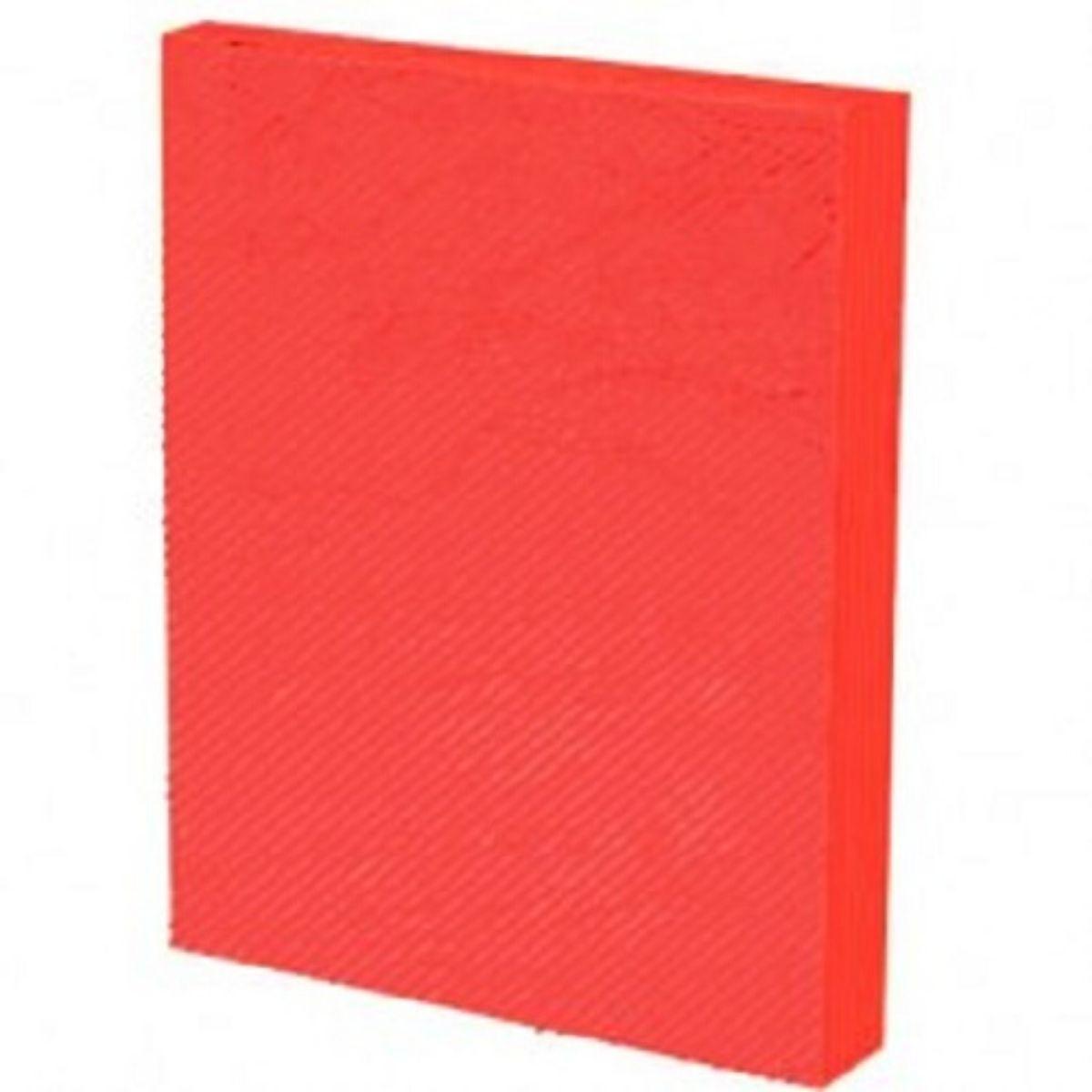 Capa para Encadernação PP 0,30mm A4 Vermelha Line (Frente) - Pacote com 100 unidades  - Click Suprimentos