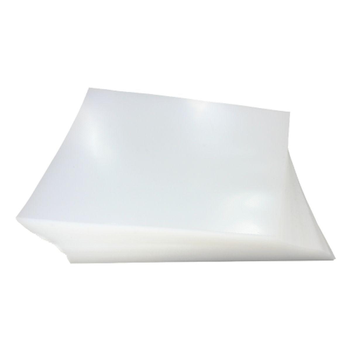 Capa Para Encadernação PP 0,30mm Oficio Transparente (Cristal) Line (Frente) - Pacote com 100 Unidades  - Click Suprimentos