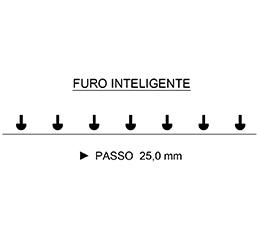 Encadernadora Perfuradora Espiramatic Furo Inteligente Lassane (Furo Cogumelo)  - Click Suprimentos