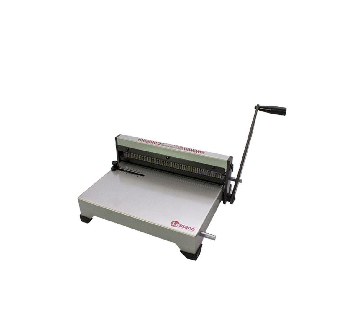 Encadernadora Perfuradora Manual Espiramatic Oficio Lassane  - Click Suprimentos