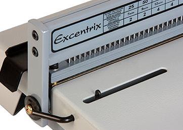 Encadernadora Perfuradora para Espiral Master 15 Excentrix  - Click Suprimentos