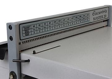 Encadernadora Perfuradora para Espiral Master 20 Excentrix  - Click Suprimentos