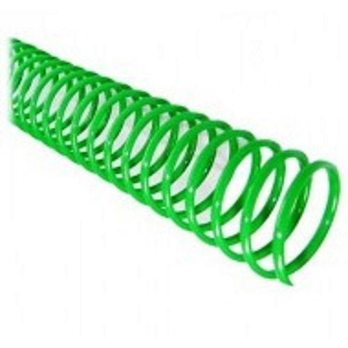 Espiral para Encadernação Verde 20mm até 120 Folhas - Pacote com 80 unidades  - Click Suprimentos