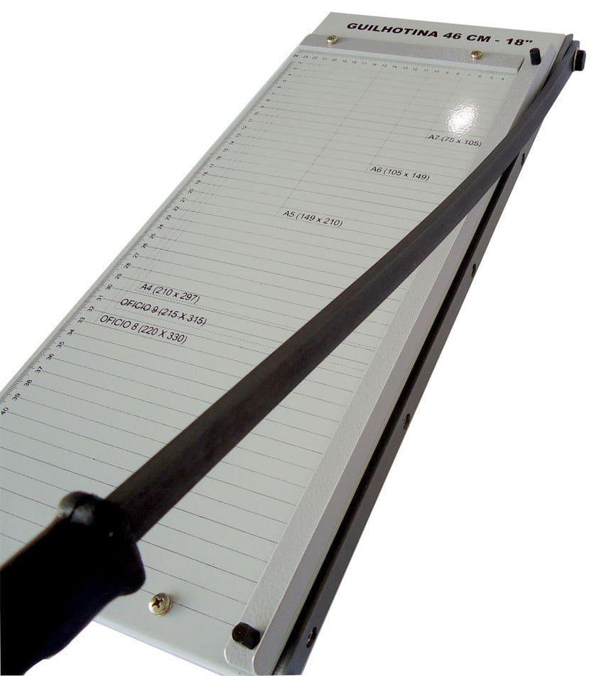 Guilhotina de Papel A3 46cm até 10 Folhas Excentrix LV46  - Click Suprimentos