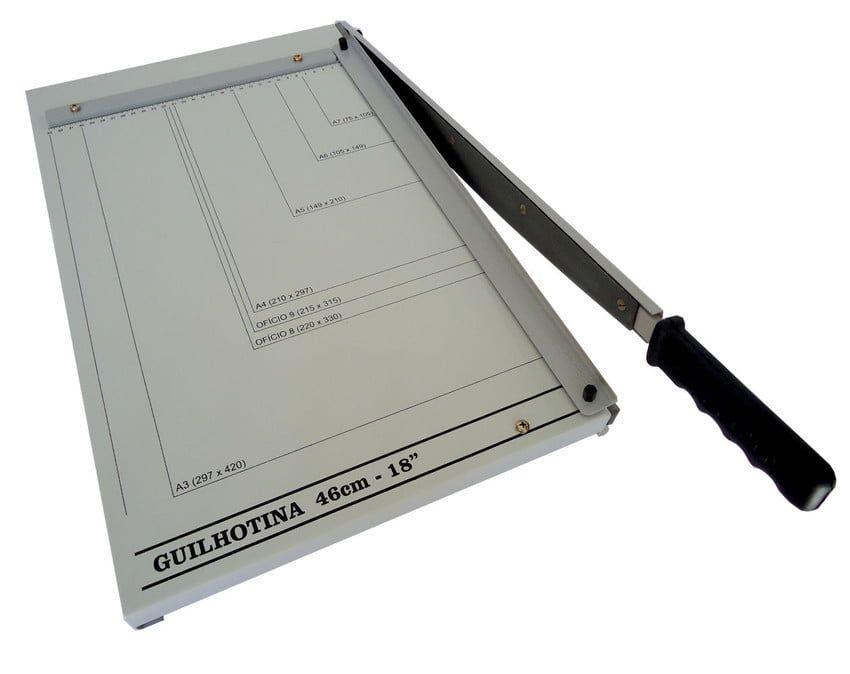 Guilhotina de Papel A3 46cm até 20 Folhas Excentrix KA46  - Click Suprimentos