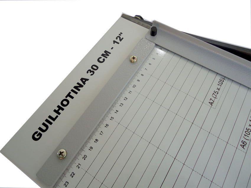 Guilhotina de Papel A4 30cm até 10 Folhas Excentrix LV30  - Click Suprimentos