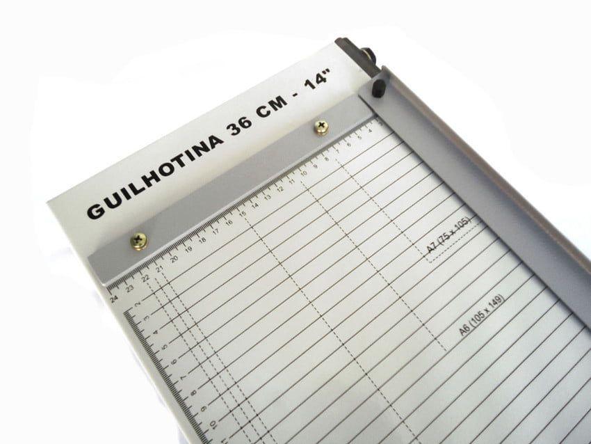 Guilhotina de Papel Oficio 36cm até 10 Folhas Excentrix LV36  - Click Suprimentos