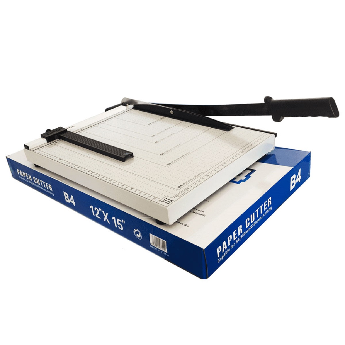 Guilhotina de Papel Facão Oficio (B4) 36cm até 12 Folhas Mares  - Click Suprimentos