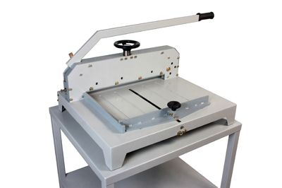 Guilhotina Semi Industrial Master Plus 33cm até 300 Folhas Excentrix EX330 com Mesa  - Click Suprimentos