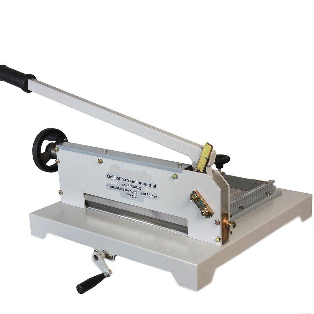 Guilhotina Semi Industrial Standard 43cm até 300 Folhas Excentrix STD430 Sem Mesa  - Click Suprimentos