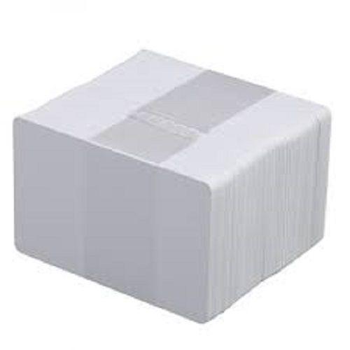 Kit 1000 Cartão PVC Branco para Crachás 54x86x0,76mm CR80  - Click Suprimentos