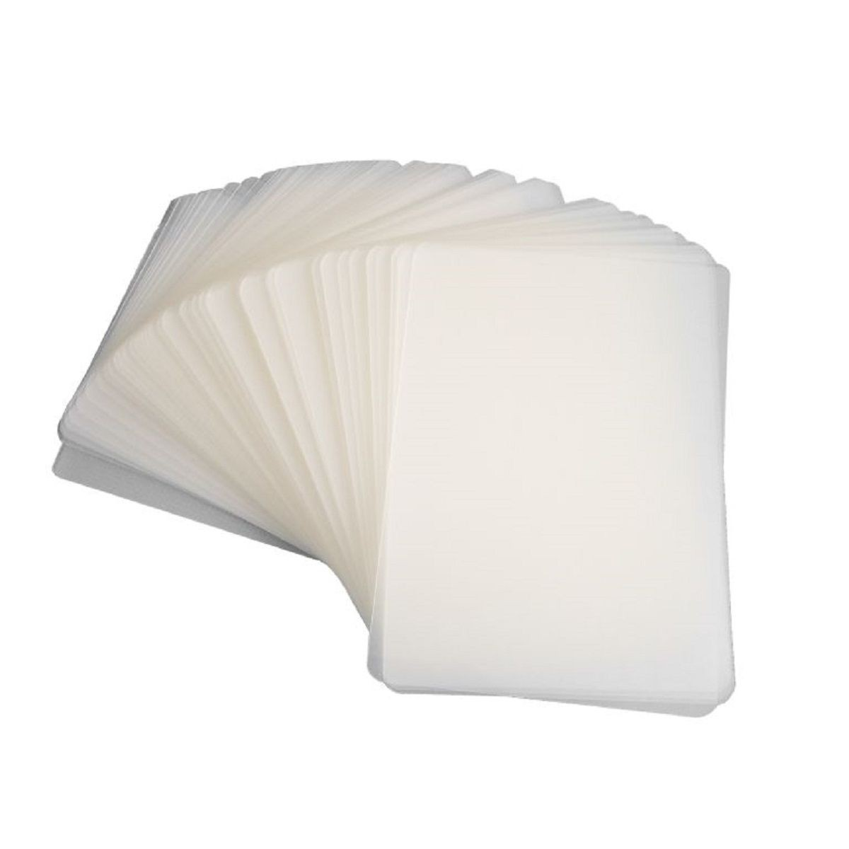 Kit 1000 Plasticos Polaseal para Plastificação Crachá 54x86x0,07mm (175 micras)  - Click Suprimentos