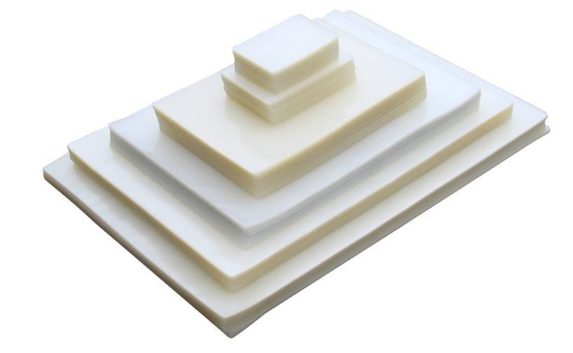 Kit 1100 Plásticos Polaseal para Plastificação 0,10mm (250 micras) - 100 unidades do Crachá ao A3  - Click Suprimentos