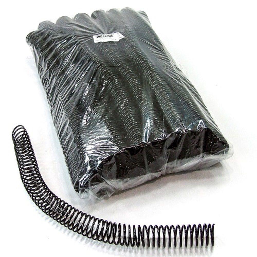 Kit 1440 Espirais para Encadernação Preto 20mm até 120 Folhas  - Click Suprimentos