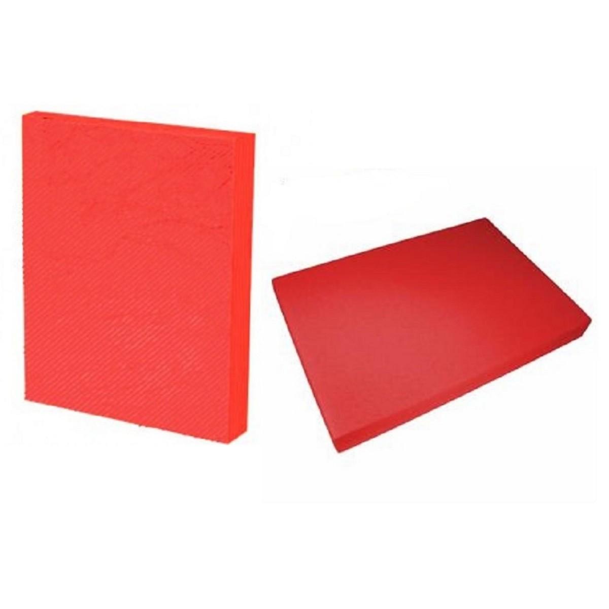 Kit 200 Capas para Encadernação A4 Vermelho  - Click Suprimentos