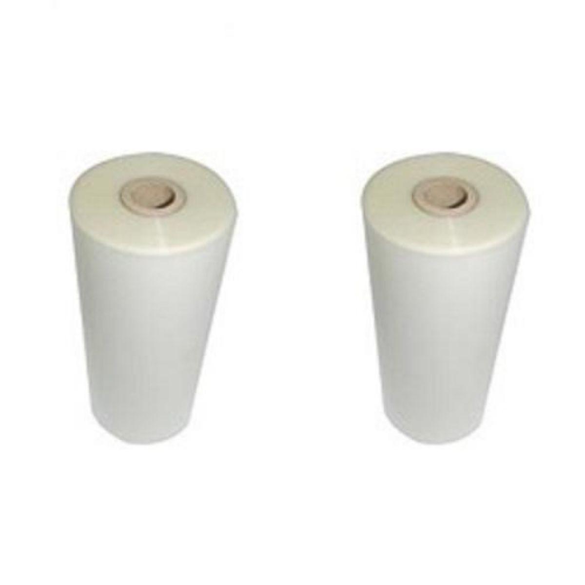 Kit 2 Bobinas para Plastificação Oficio 23cm x 45M x 0,08mm (190 micras)  - Click Suprimentos