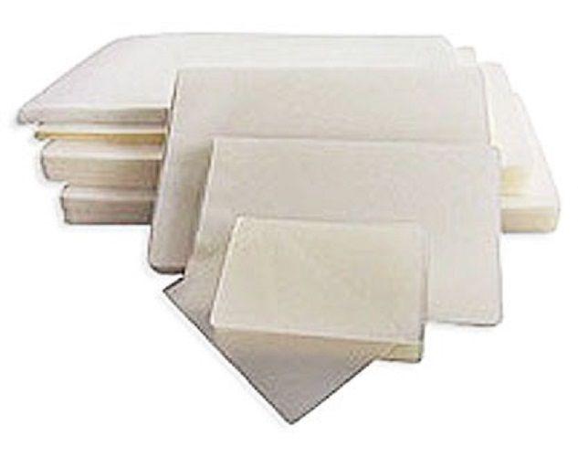 Kit 400 Plásticos Polaseal para Plastificação 0,05mm (125 micras) - A4, RG, Título e CPF  - Click Suprimentos
