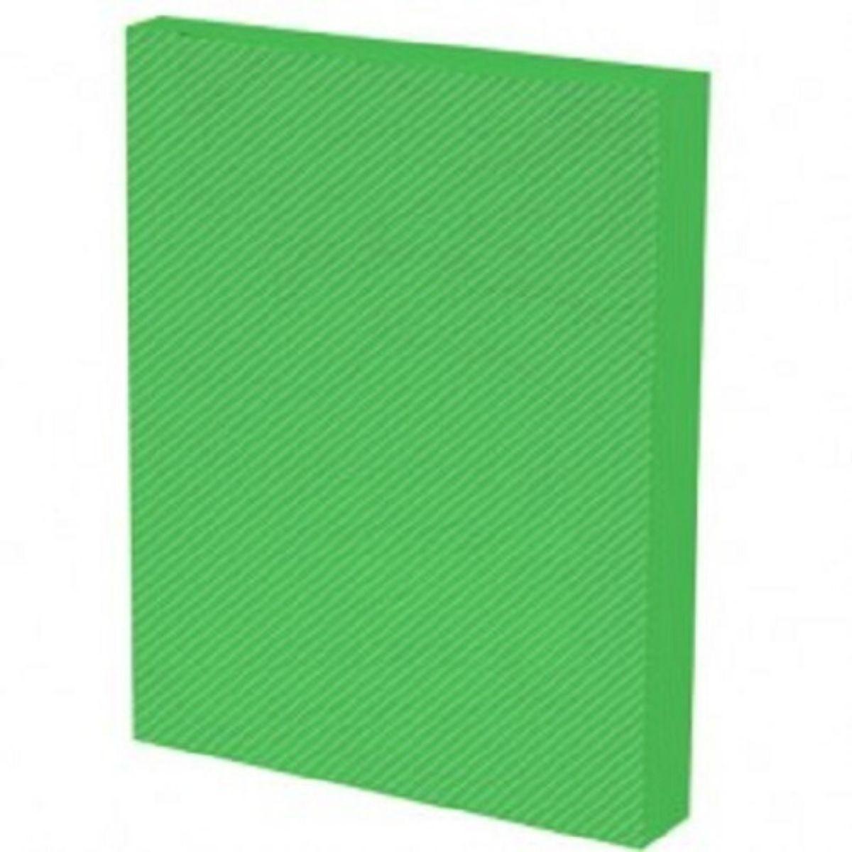 Kit 500 Capas para Encadernação PP 0,30mm A4 Verde Line (Frente)  - Click Suprimentos