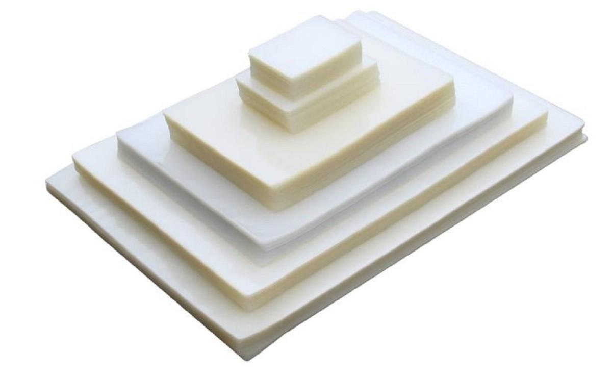 Kit 500 Plásticos Polaseal Para Plastificação 0,05mm (125 micras) - Crachá ao Oficio  - Click Suprimentos