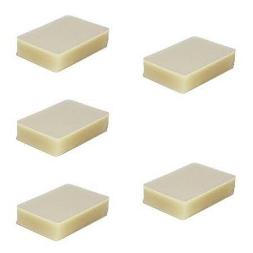 Kit 500 Plásticos Polaseal para Plastificação Crachá 59x86x0,05mm (125 micras)  - Click Suprimentos