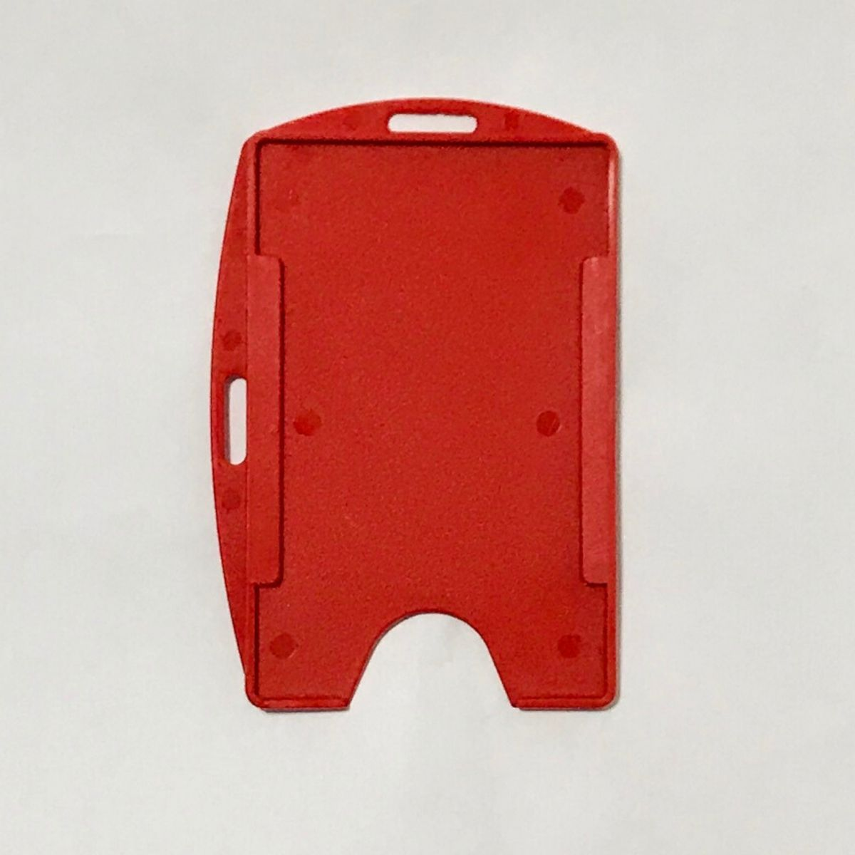 Kit 500 Protetores Porta Crachá Rígido M3 Conjugado Vermelho  - Click Suprimentos