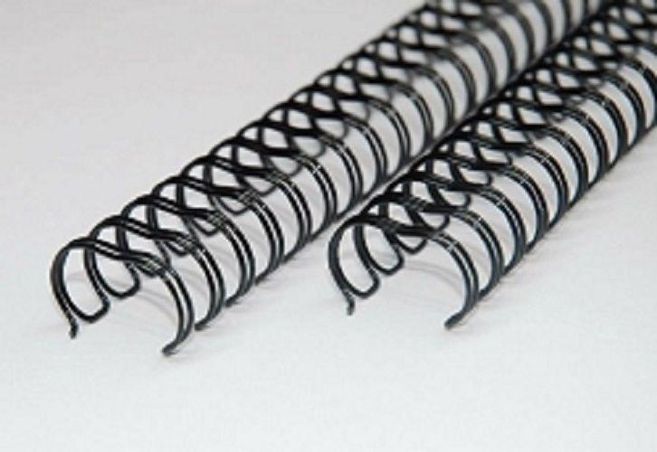 Kit 600 Garras Wire-o para Encadernação A4 Preto Passo 3x1  - Click Suprimentos