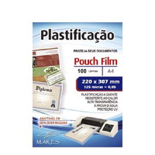 Kit 700 Plásticos Polaseal para Plastificação 0,05mm (125 micras) - A3, Oficio, A4, 1/2 Oficio, RG, Título e CPF  - Click Suprimentos