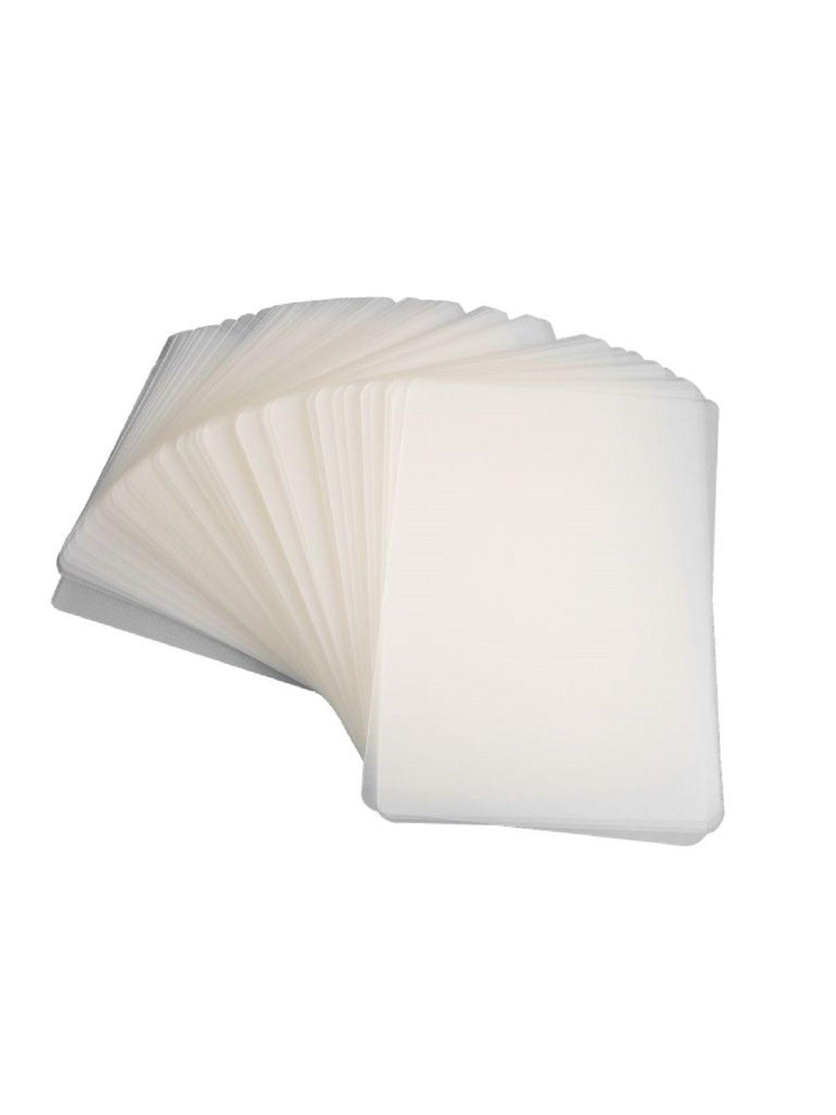 Kit 80 Plásticos Polaseal para Plastificação 0,05mm (125 micras)   - Click Suprimentos