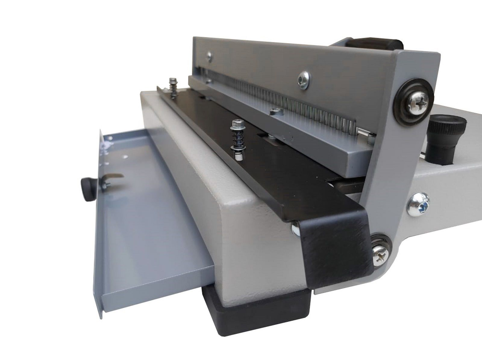 Kit Encadernadora A4 + 200 Capas e 100 Espirais de 07mm Preto  - Click Suprimentos