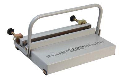 Kit Encadernadora Perfuradora Wire-o Passo 2x1 + Fechador Wire-o 36cm Excentrix  - Click Suprimentos