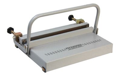 Kit Encadernadora Perfuradora Wire-o Passo 3x1 + Fechador Wire-o 45cm Excentrix  - Click Suprimentos