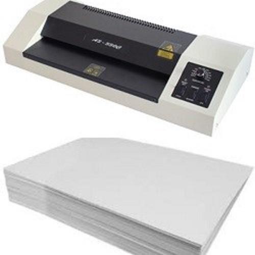 Kit Laminadora 220v e PVC (PET) para Produção de Crachás  - Click Suprimentos