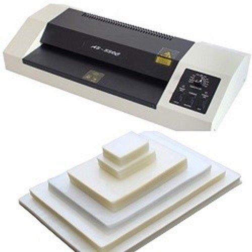 Kit Plastificadora A3-330C 110v + 620 Plásticos  - Click Suprimentos