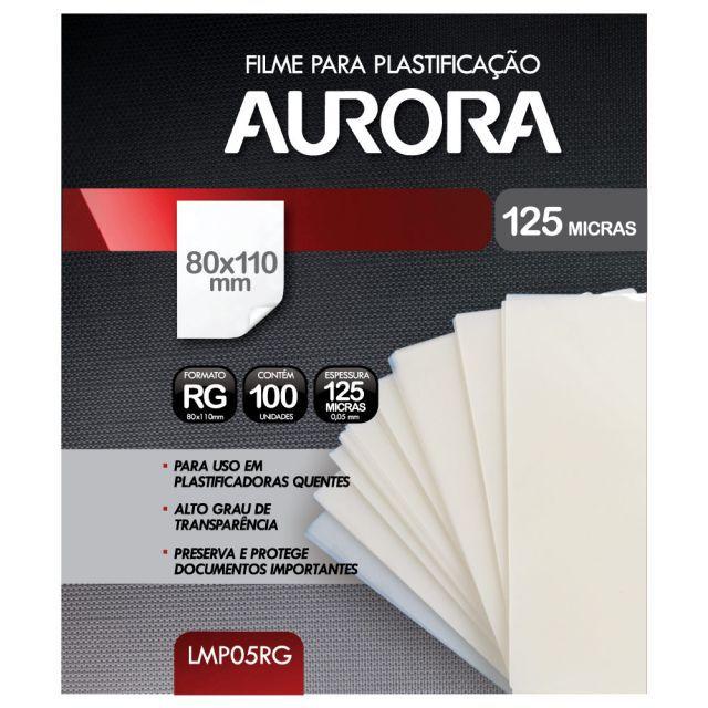 Kit Plastificadora A3 Aurora LM3233H 220v + 200 Plásticos  - Click Suprimentos